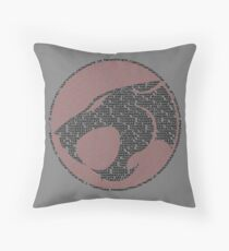 Thunder-tee-Cats ho!  Throw Pillow