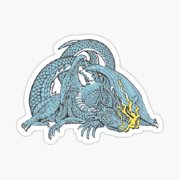 Dragon écaillé et glacé Sticker