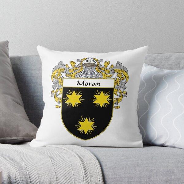 Moran Coat of Arms/Family Crest Throw Pillow