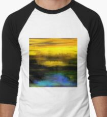Abstract Yellow Blue #1 T-Shirt