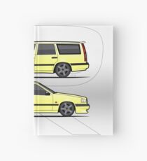 Volvo 850R T5-R Duo Creme Yellow Hardcover Journal