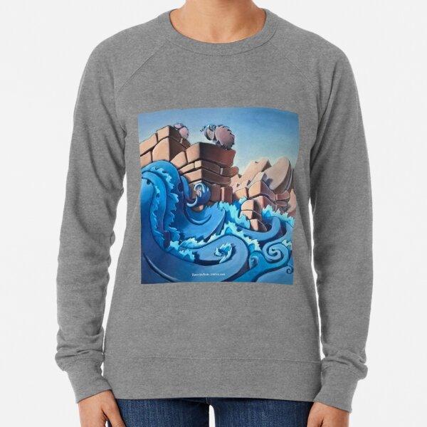 Big Horn Sheep in the Canyon Lightweight Sweatshirt