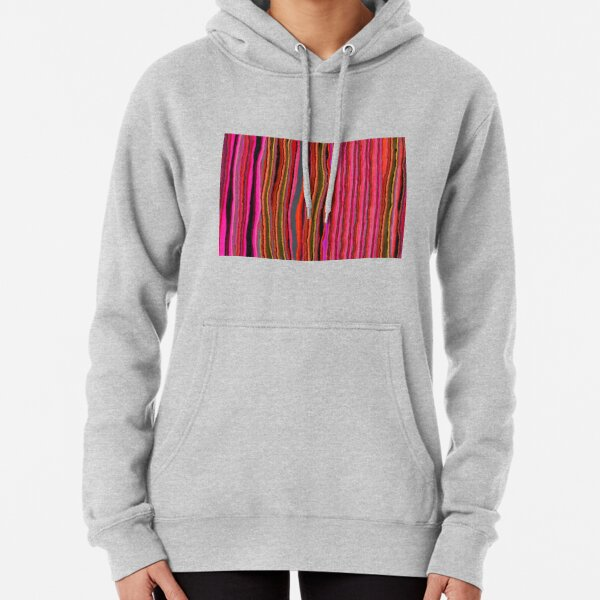 Red Indian Saree, Section 6 Pullover Hoodie