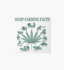 Hemp Farming  Art Board