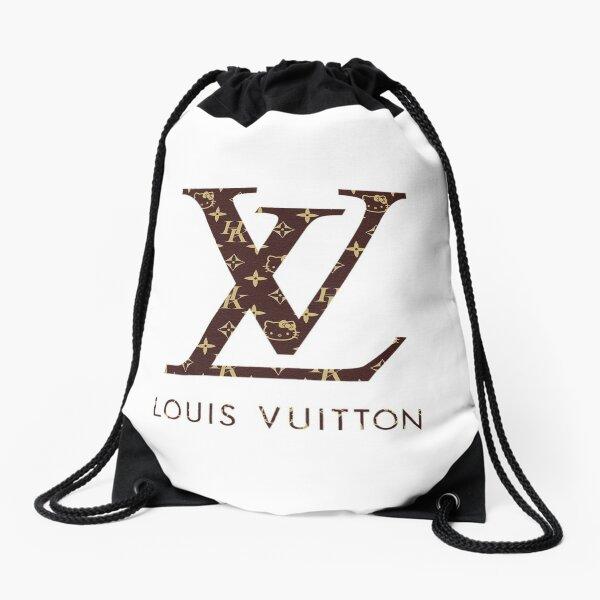 Louis V Drawstring Bag