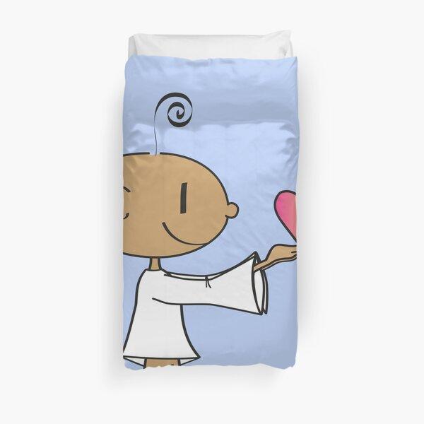 The Little Yogi Duvet Cover