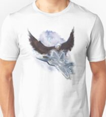 Raptor Sky and Ice Unisex T-Shirt