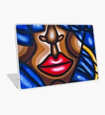 GIRL WITH A HOOP EARRING Laptop Skin