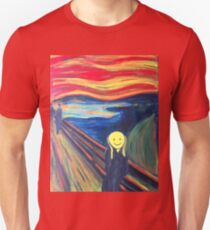 The Smile (The Scream, after Munch) T-Shirt