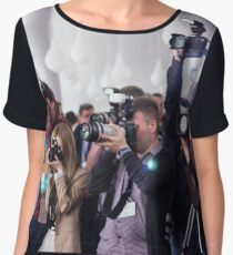 Media Blast - People Photography Chiffon Top