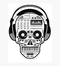 DJ Sugarskull Photographic Print