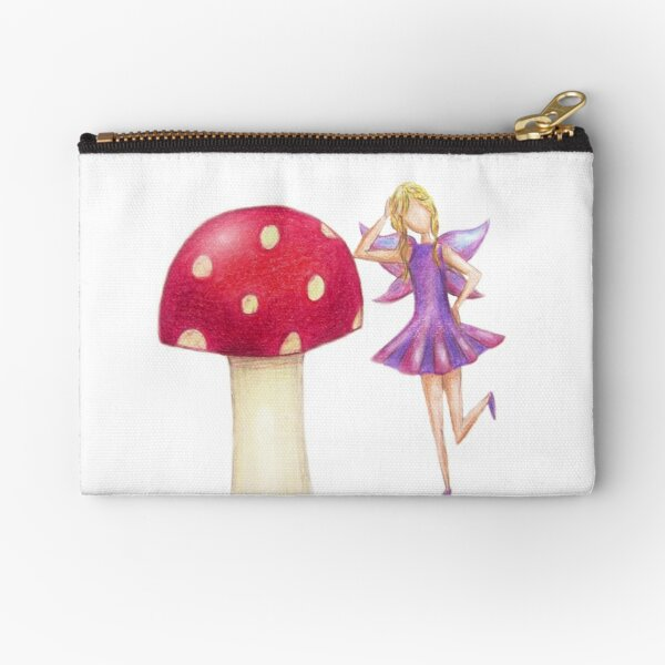 Fairy & Toadstool Day Dreaming Zipper Pouch