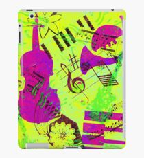 Psychedelic Music  iPad Case/Skin