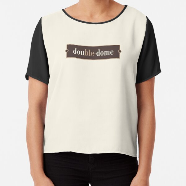 Double-dome – Words for Book Lovers (Chocolate Edition) Chiffon Top