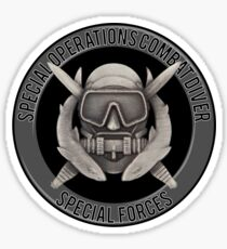 Special Operations Diver Sticker
