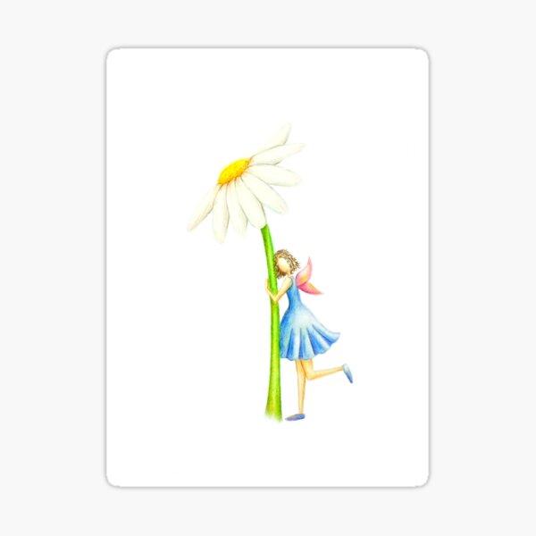 Magical Fairy & Flower Sticker