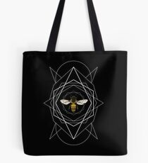 Working Girl (White Lines) Tote Bag