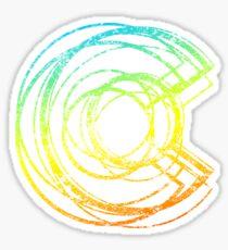 colorado chill c Sticker