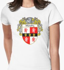 Murphy Coat of Arms/Family Crest Women's Fitted T-Shirt