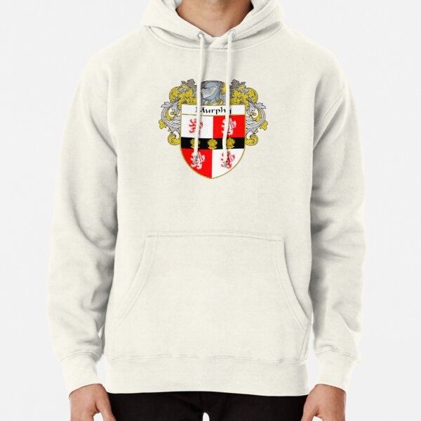 Murphy Coat of Arms/Family Crest Pullover Hoodie