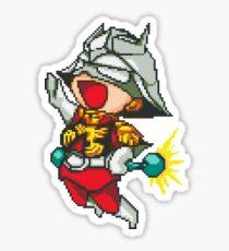 Char Aznable Gundam - SNES Sprite Sticker