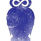 Cosmic owl II by Jonah Block