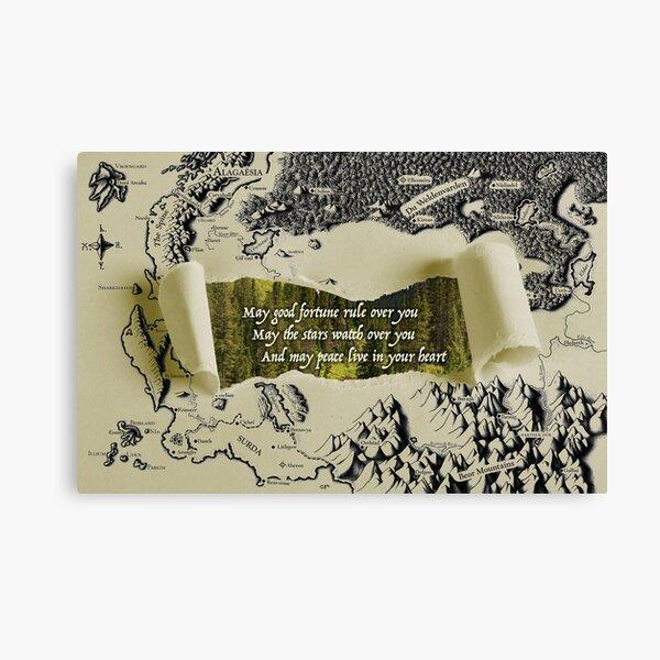 Eragon Greeting Canvas Print