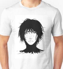 Black Hair & Neck - Male Unisex T-Shirt