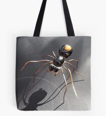 Red Back Spider Tote Bag