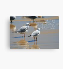 Seagull Dolphin or Fish? Canvas Print