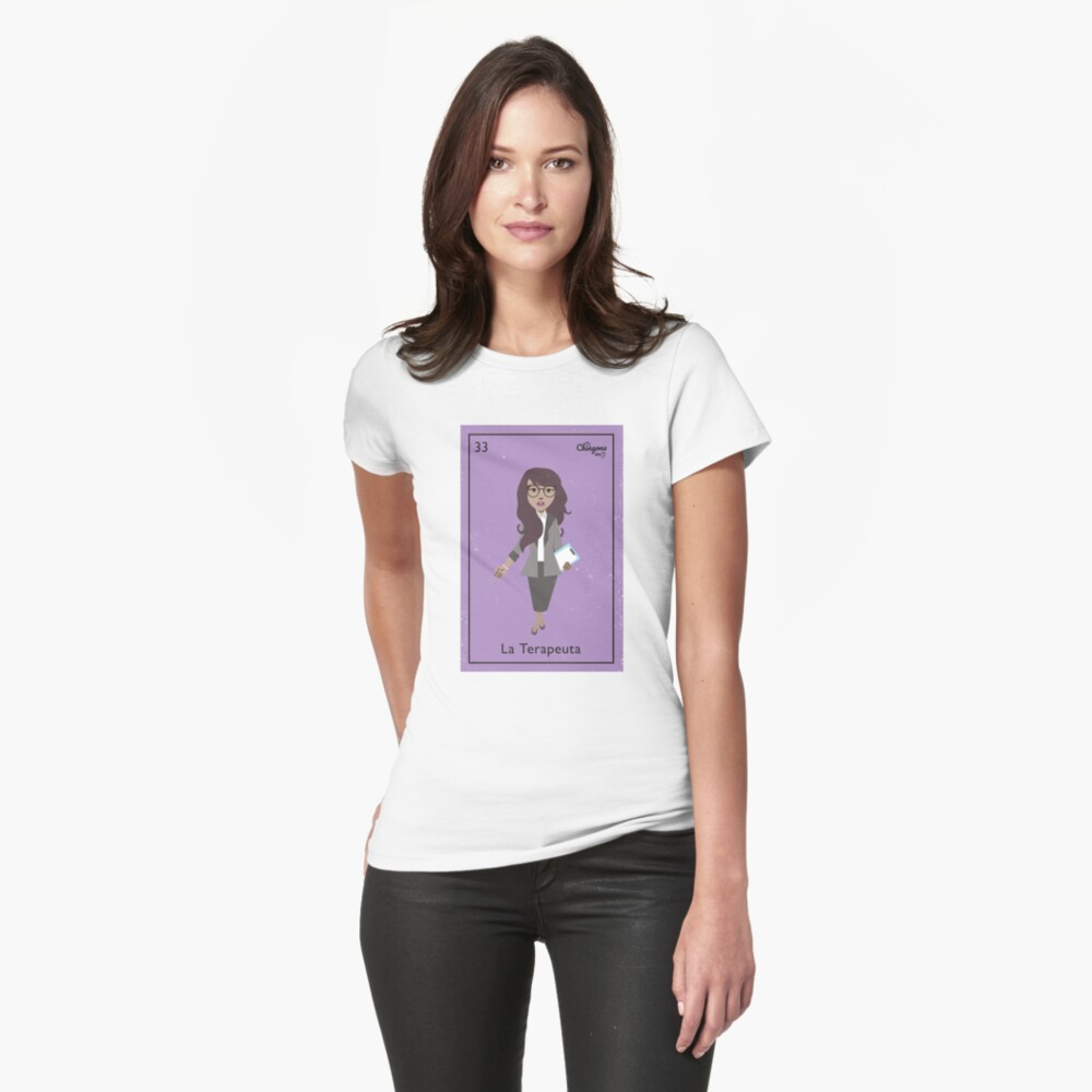 La Terapeuta Fitted T-Shirt