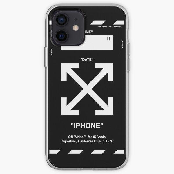 OFF LE BLANC 1 Coque souple iPhone