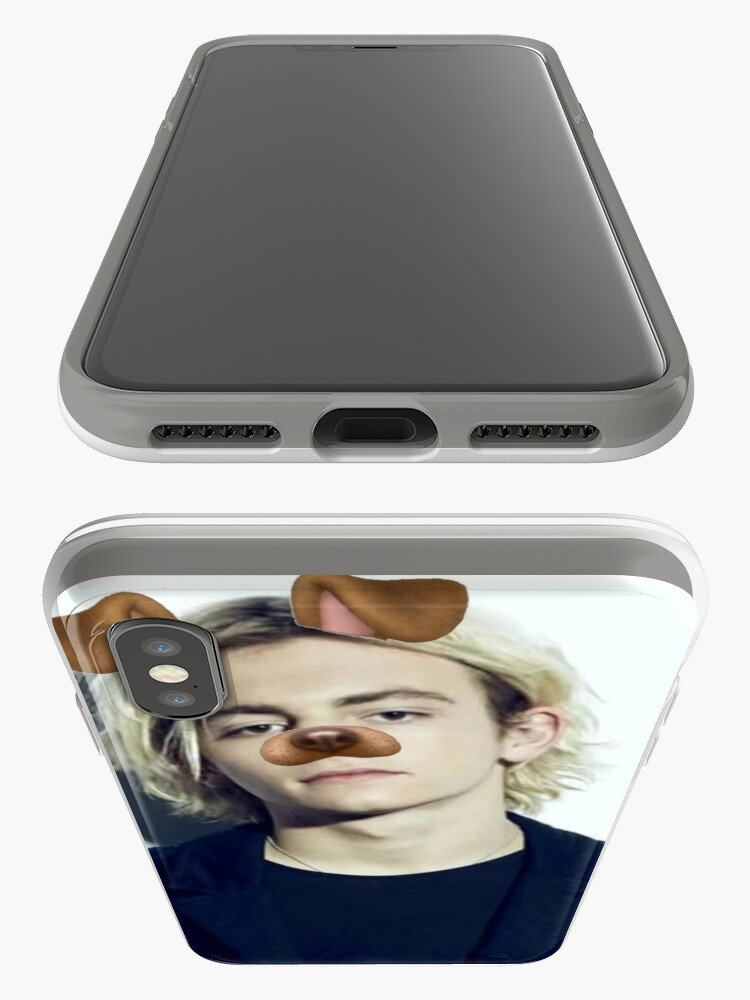 Alternative Ansicht von Ross Lynch - Snapchat Welpen Filter iPhone-Hülle & Cover
