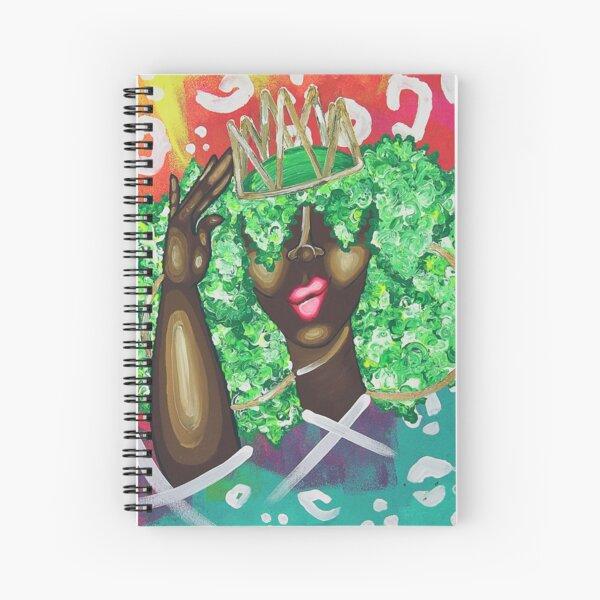 ADJUSTING MY MFKN CROWN Spiral Notebook
