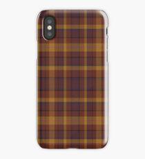 02565 Morris County, New Jersey Fashion Tartan  iPhone Case/Skin