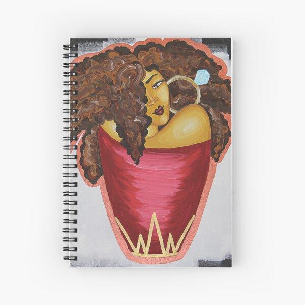 QUEENS BE WINNING  Spiral Notebook