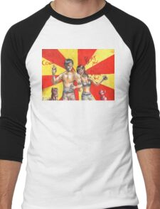 Hannibal - BAMF friends Men's Baseball ¾ T-Shirt