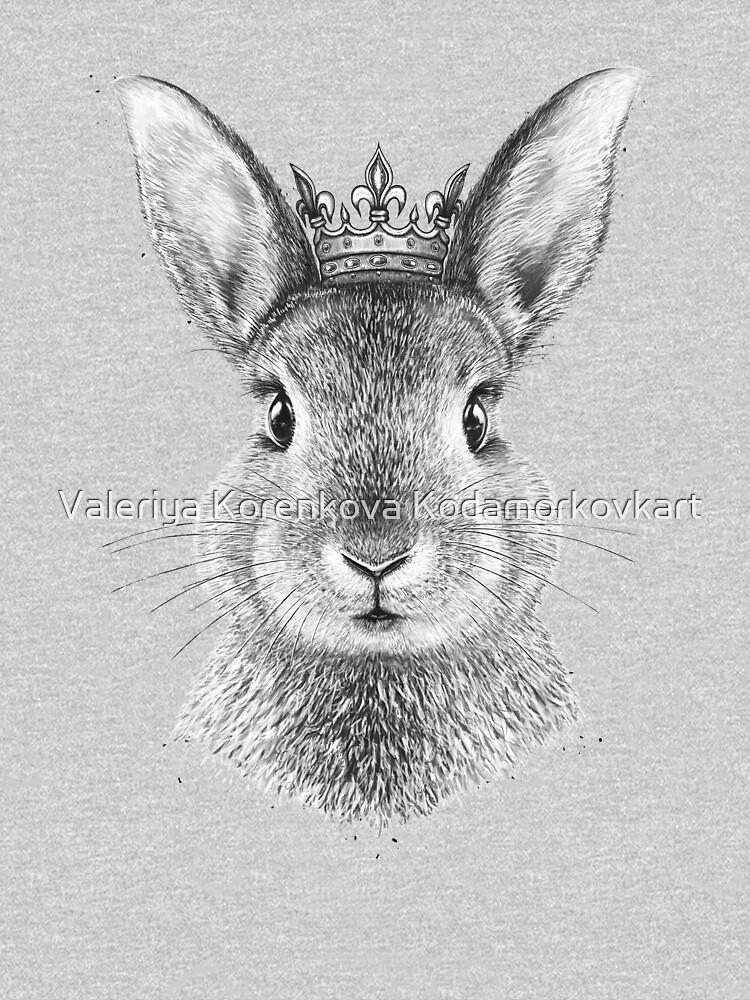 Queen Rabbit by kodamorkovkart