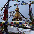 Boudhanath Stupa, Kathmandu, Nepal. by John Dalkin