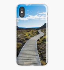 Boardwalk in Tongariro National Park (1) iPhone Case/Skin
