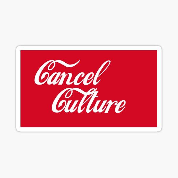 Cancel Culture Sticker