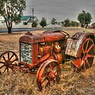 Attractive Tractor by Michael Matthews