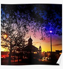 Sunrise on Sturt Poster