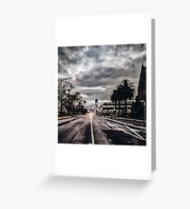 The Grey City Greeting Card