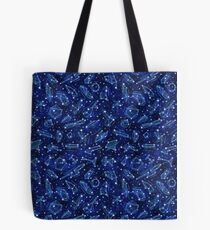 Legendary Star Ship Constellations Tote Bag