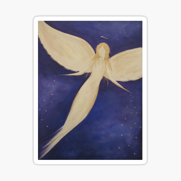 Angel Blessings From The Stars  Sticker