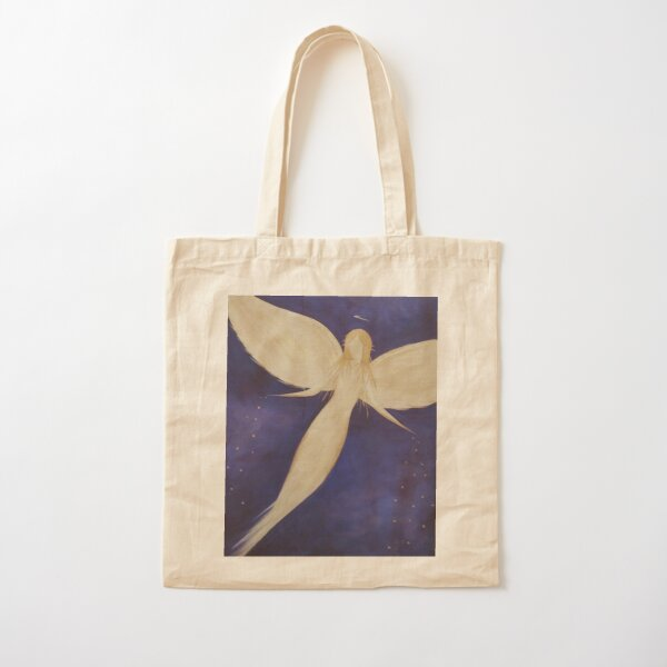 Angel Blessings From The Stars  Cotton Tote Bag