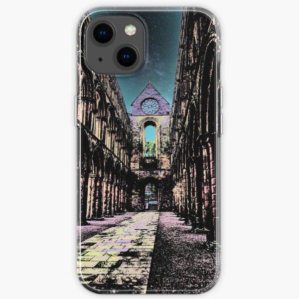 Interior of Jedburgh abbey iPhone Soft Case