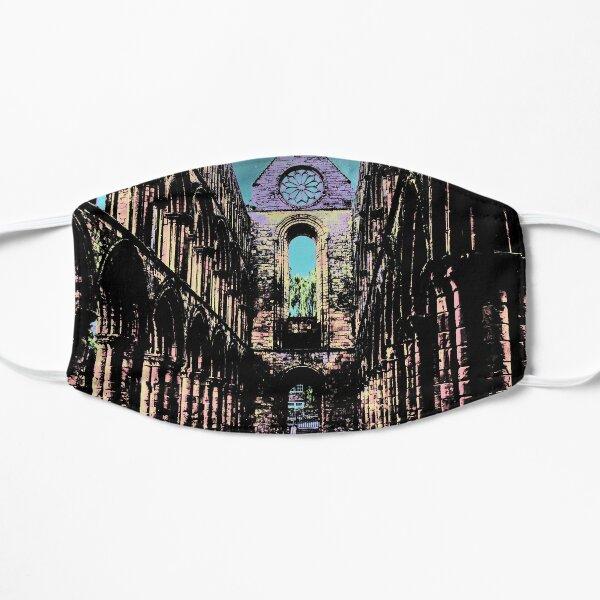 Interior of Jedburgh abbey Flat Mask