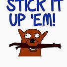 Get a stick and... by firstdog